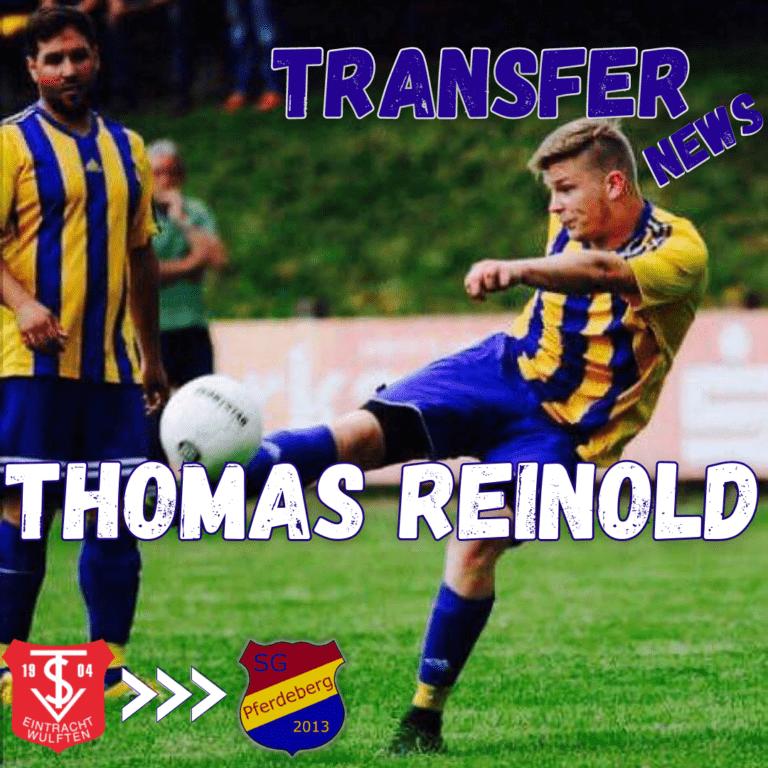Thomas Reinold kehrt zurück zur SG Pferdeberg