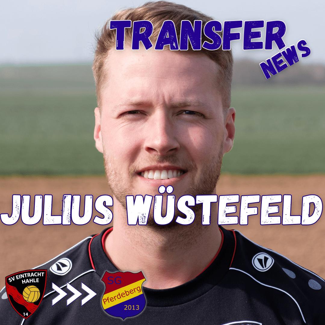 Julius Wüstefeld kehrt zurück zur SG Pferdeberg