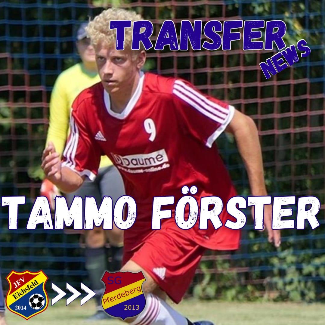 Tammo Förster kommt vom JFV Eichsfeld