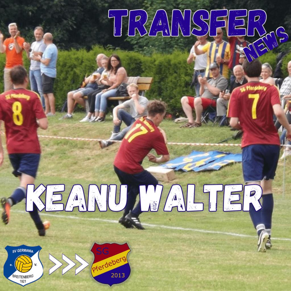 Transfer News Keanu