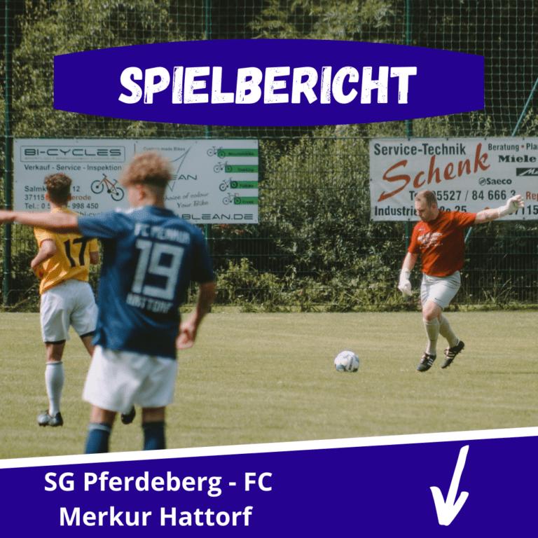 Read more about the article SG Pferdeberg gewinnt Generalprobe mit 3:0